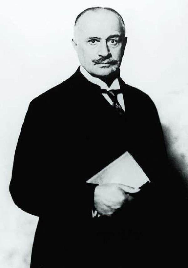 Max von Oppenheim in den 1920-er Jahren