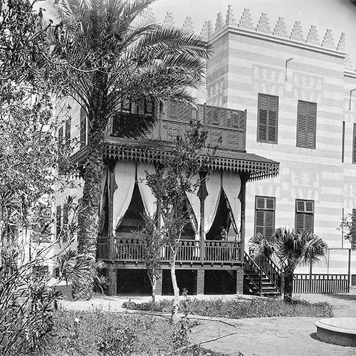 Die Villa war Oppenheims standesgemäßes Domizil während seiner Kairoer Jahre
