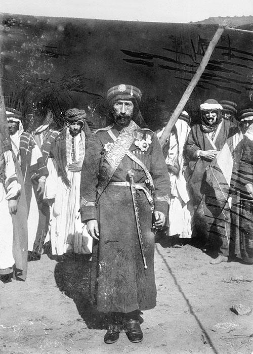 Ibrahim Pascha in seiner Kommandanten-Uniform, 1899