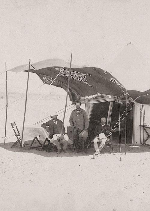 Ausflug in die Wüste. Mi. Max v Oppenheim